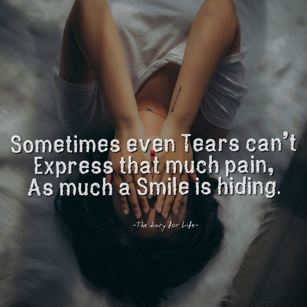 Sad quotes about life and pain