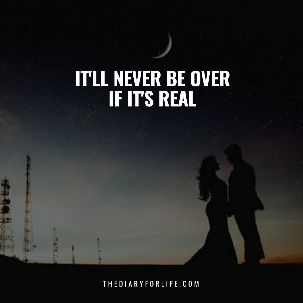 fake love quotes  - If it's real