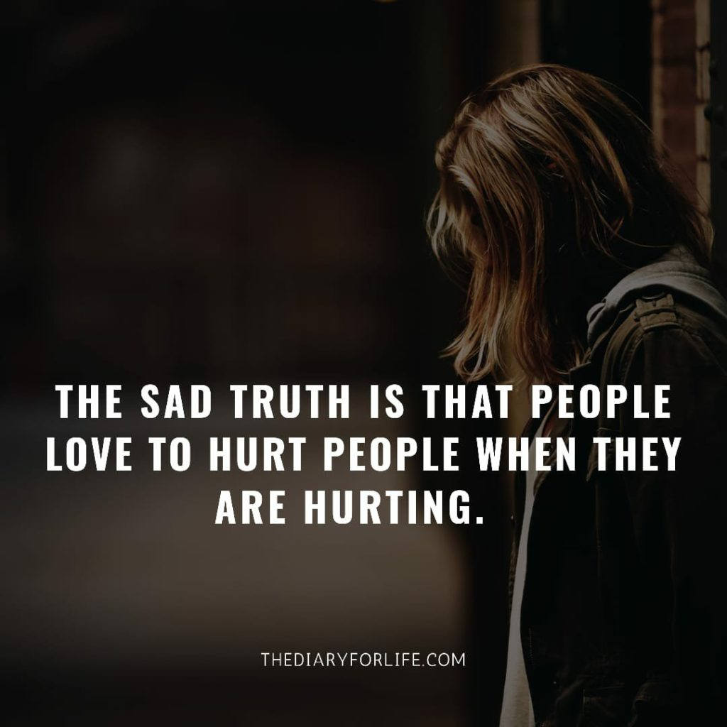 fake love quotes - The sad truth is